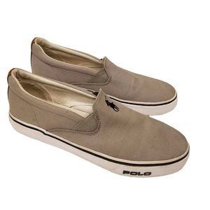 Polo by Ralph Lauren Canvas Slip-On Sneakers